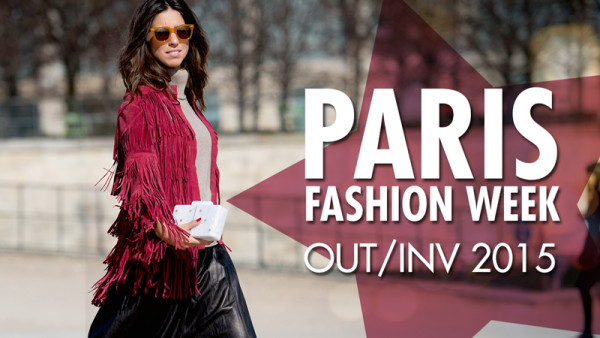 Paris Fashion Week Luiza Sobral