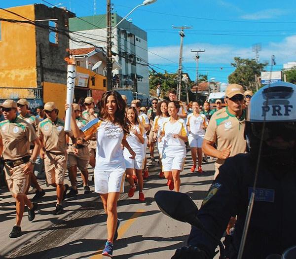 Luiza Sobral Olimpiadas 2016 Tocha Olimpica 2