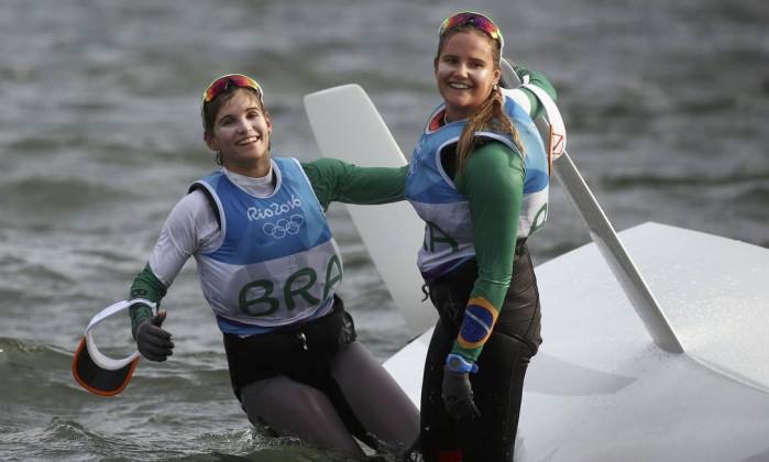 Martine Grael e Kahena ganham ouro na vela rio 2016