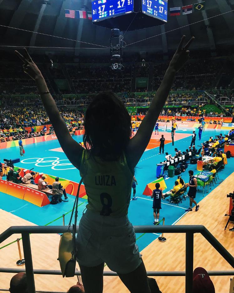 Luiza Sobral final vôlei rio2016