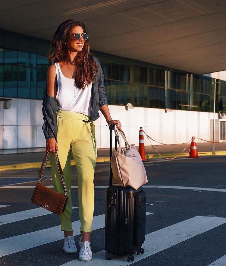 Aerolook Airport Style Luiza Sobral