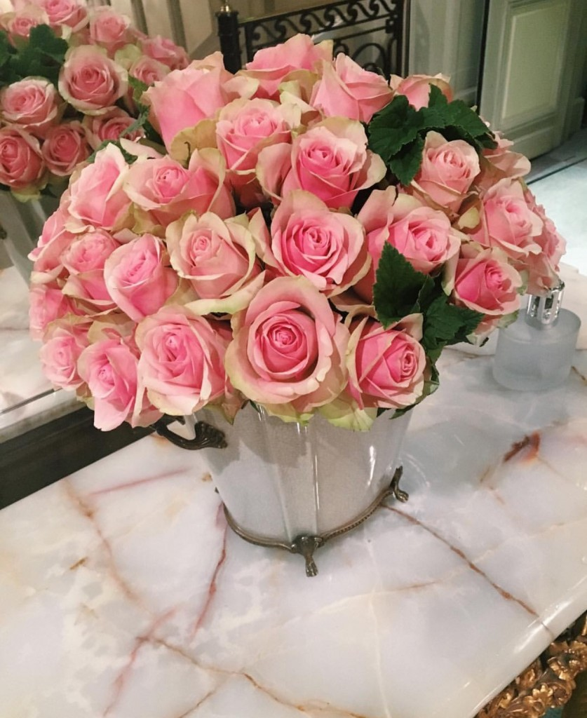 Flores Rosas Le Meurice Pink Roses
