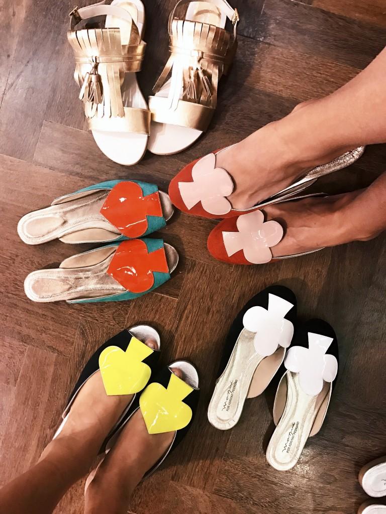 Sapatos Masque