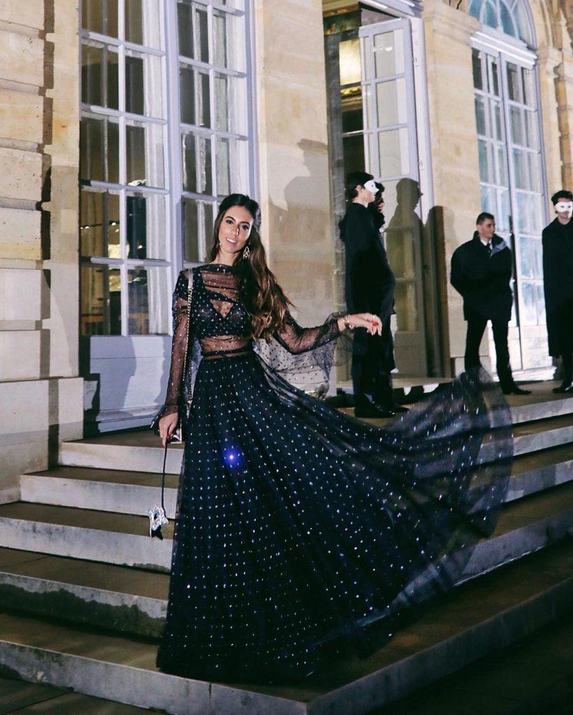 Luiza Sobral Paris Haute Couture Dior Ball