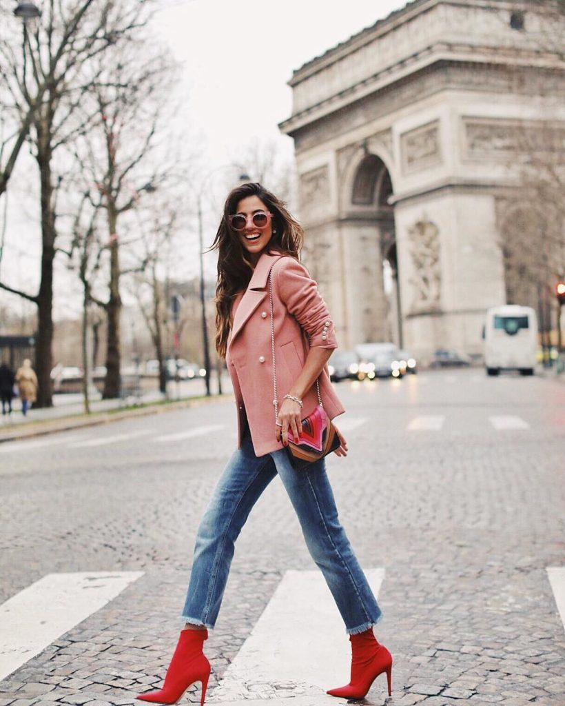 Luiza Sobral Street Style Haute Couture 2018Luiza Sobral Street Style Haute Couture 2018